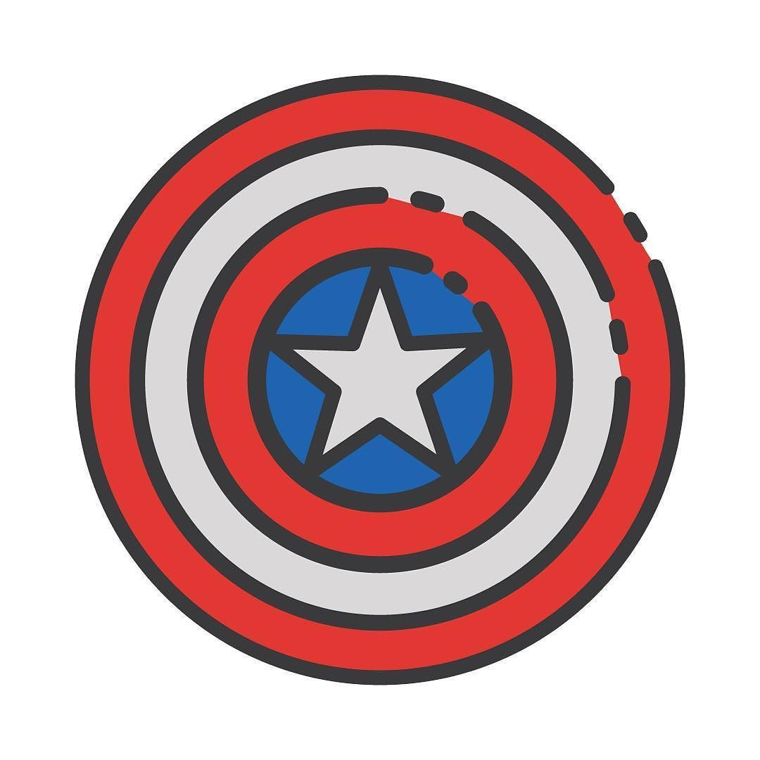 [11/100] Can't wait to see #Civilwar  #100daysoficons #the100dayproject #iconaday by millmotion