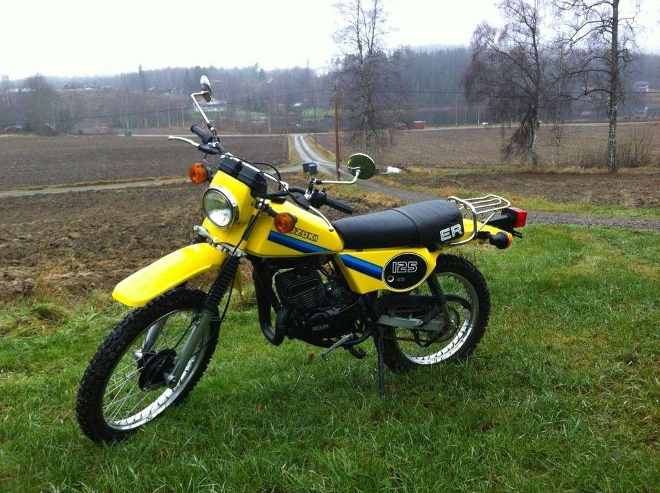 suzuki ts 125 er 1981 enduro motorcycle motorbikes. Black Bedroom Furniture Sets. Home Design Ideas