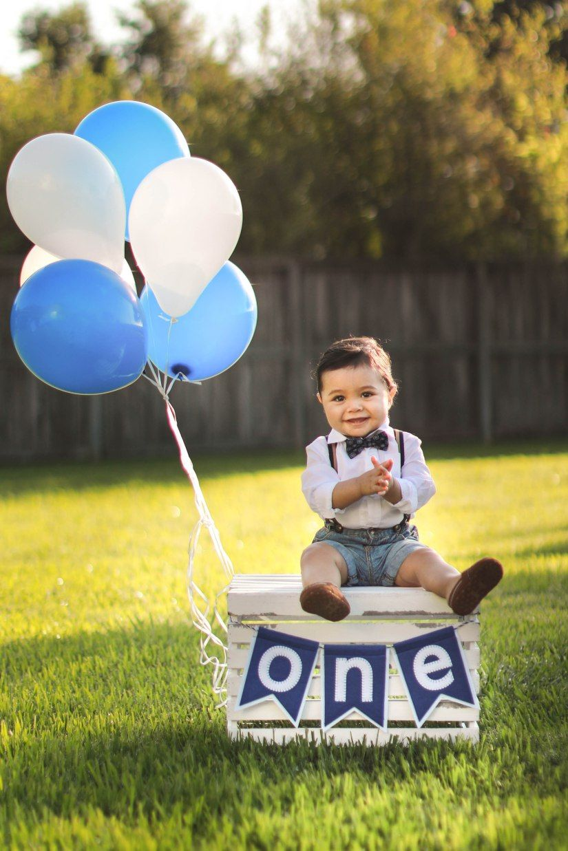 Grayson First Birthday Portraits Houston Photographer
