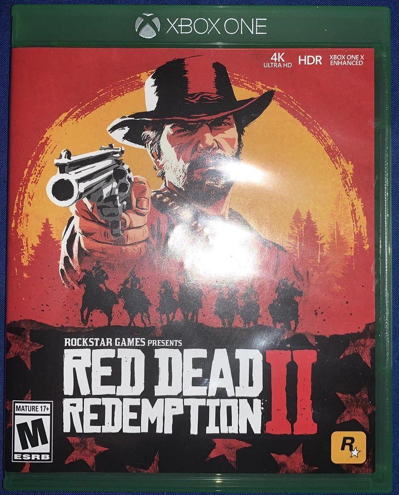 Xbox One Red Dead Redemption 2 reddeadredemption
