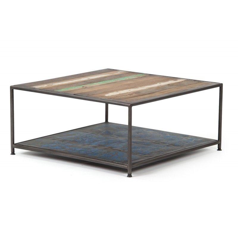 Table basse design carrée History ATYLIA projet maison Pinterest