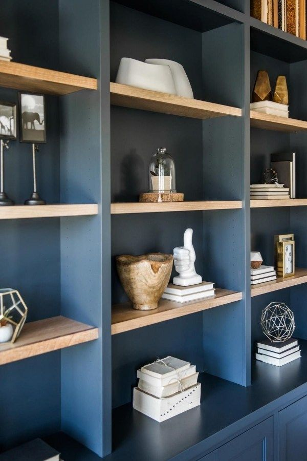 Pin By Eka Eka On Taro Fireplace Bookshelves Farmhouse Style Living Room Bookshelves Built In
