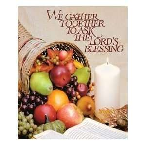 BUY 2, GET 1 FREE We Gather Together to Ask the Lord's Blessing With Fall  Leaves for Thanksgiving Ma in 2020 | Machine embroidery designs, Things to  sell, Machine embroidery