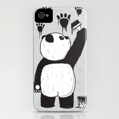 Pandalism  by Fathi  IPHONE CASE / IPHONE (4S, 4)  Available @ Society6