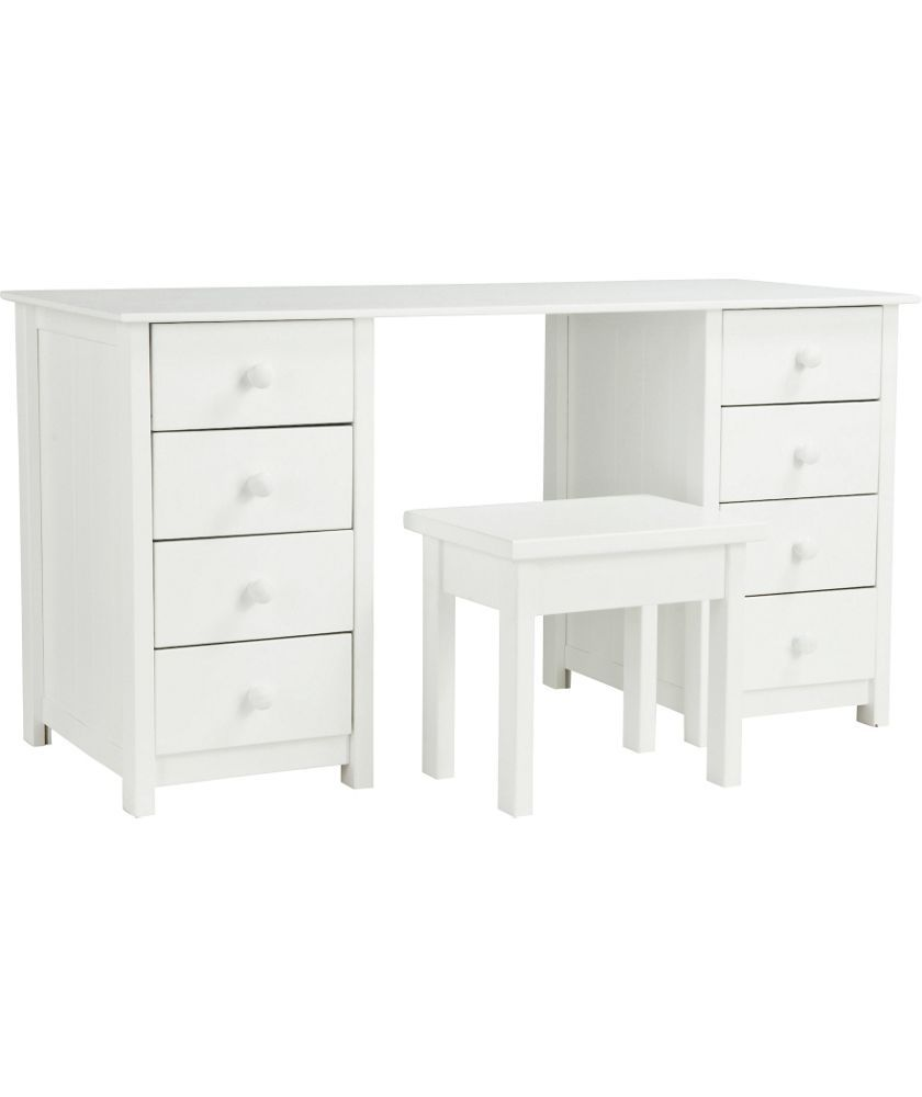 Buy new scandinavia dressing table white at argos your buy new scandinavia dressing table white at argos your online geotapseo Image collections