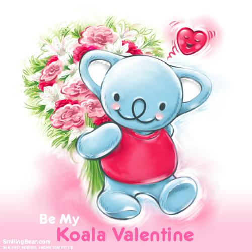 Be My Koala Valentine! Free Ecard (great if you've forgotten a card!): http://www.smilingbear.com/blog/be-my-koala-valentine-free-ecard  #KoalaValentine #Valentines #Ecard #koalaplush #Bandai #plushies #smilingbear #smilemore #koala #koalabear #bear #smile #smiling #happy #cute #kawaii #australia #aussie #sydney #beach #manga #art #design #illustration #cartoon #characterdesign #fun #GIF #otaku #plush