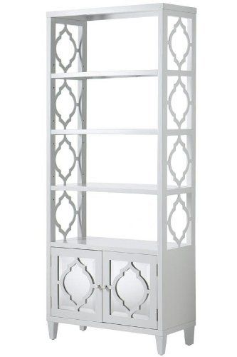 A Lattice Designed And Mirrored Bookcase My Bookshelf Is Falling Apart