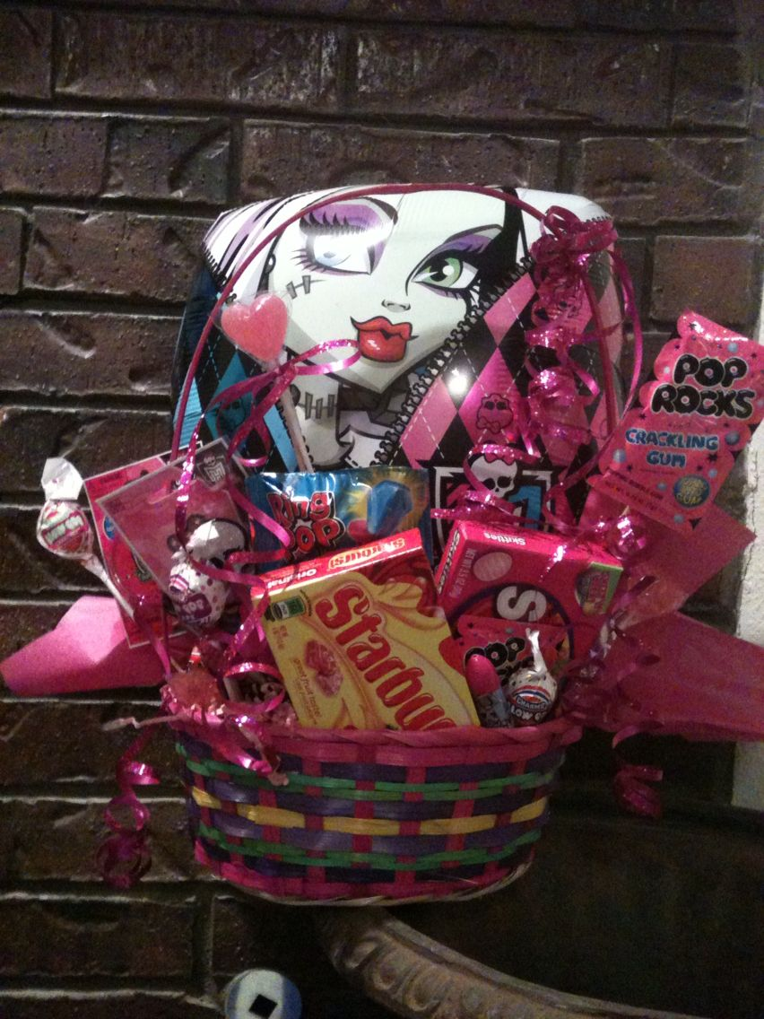 Monster high easter basket easter baskets pinterest easter monster high easter basket negle Image collections
