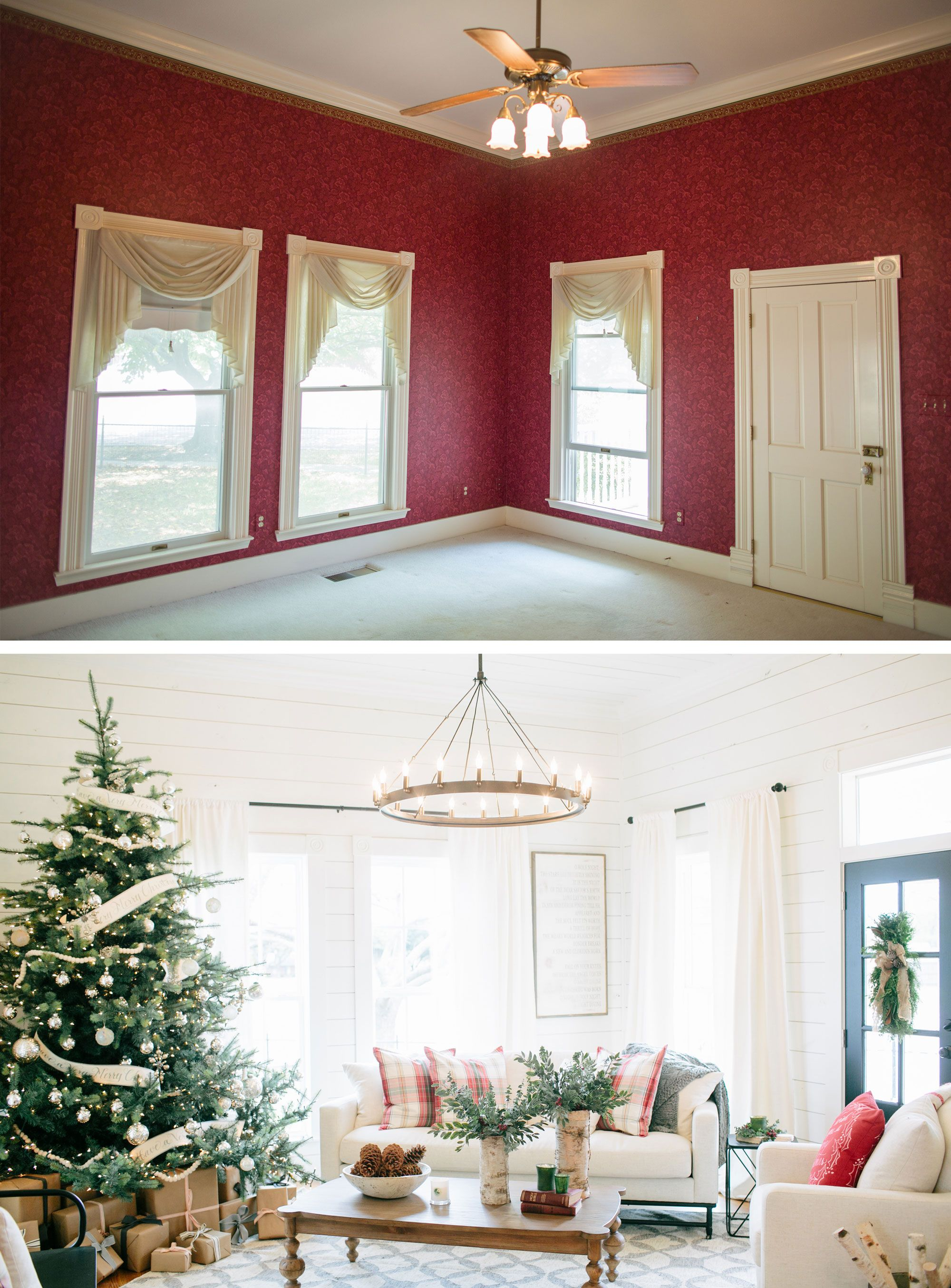 fixer upper season 3 chip and joanna gaines christmas decorations house renovation - Joanna Gaines Christmas Decor