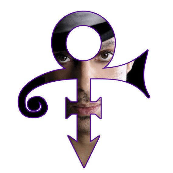 Prince Symbol Decal Sticker Purple Rain Prince Musician