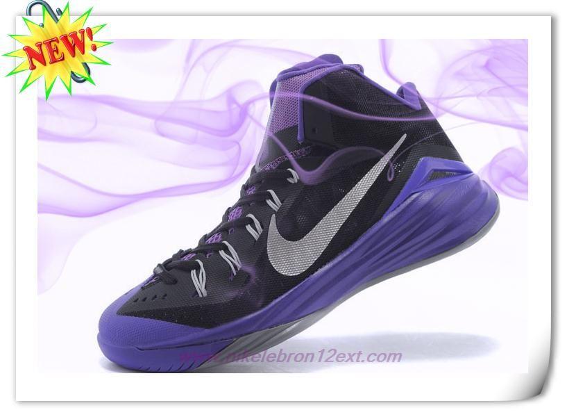 Deals On Black/Purple/Gray 653641-011 Nike Hyperdunk 2014