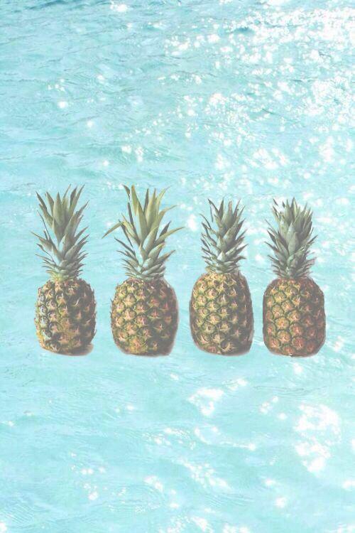 Fond d 39 cran ananas piscine iphone icono pinterest for Fond ecran ananas