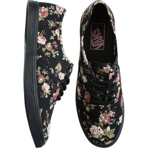 fa17229ba99 Vans Preto Floral