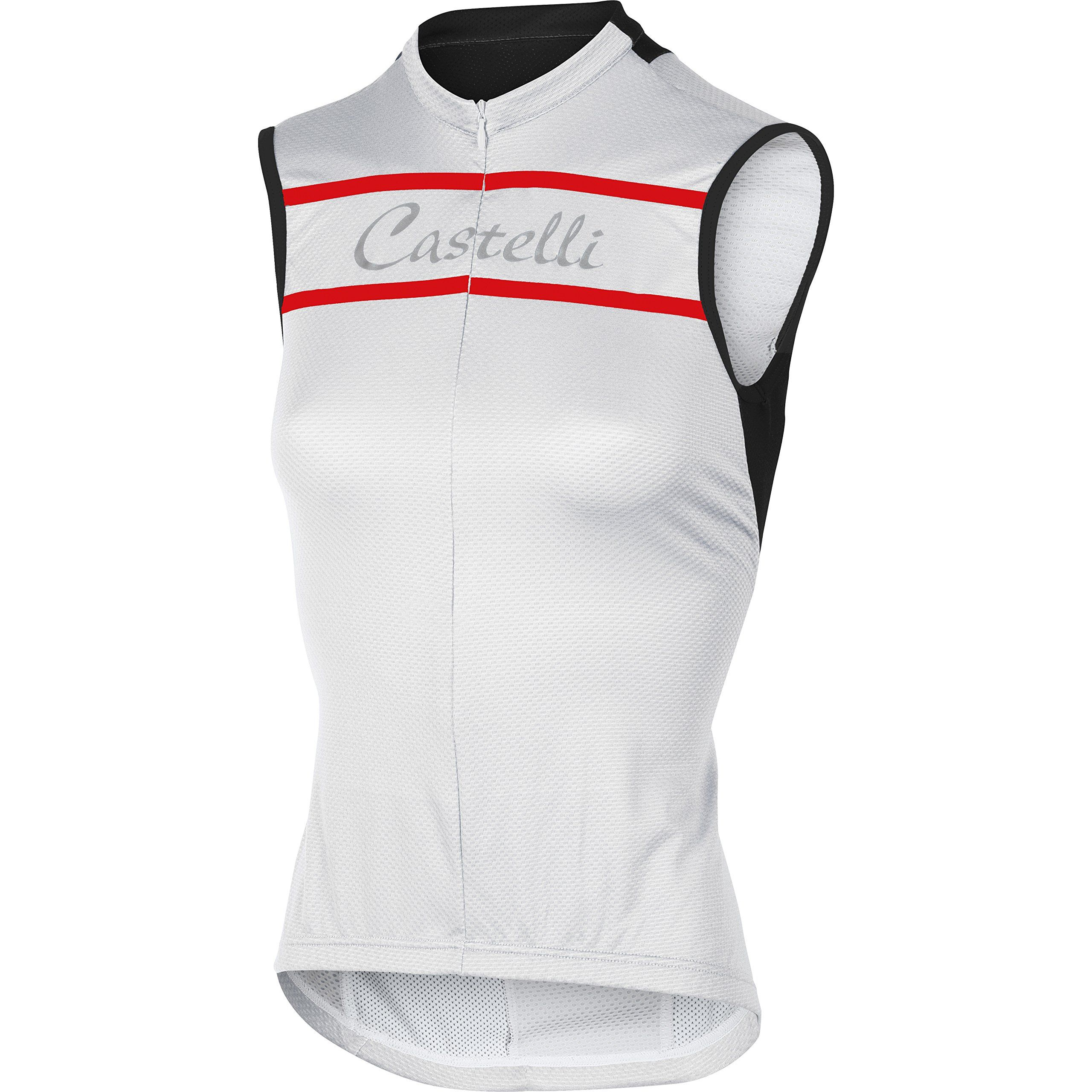 60e2aeb5a26718 Castelli Promessa Jersey - Sleeveless - Women s White
