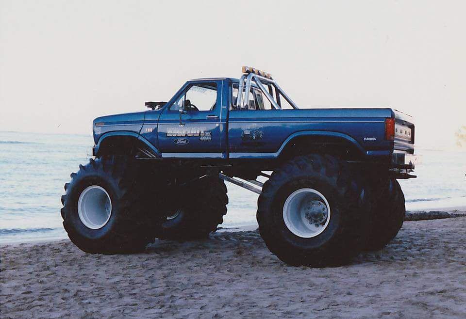 Bigfoot 4 In Hawaii 1985 Monster Trucks Big Trucks Ford