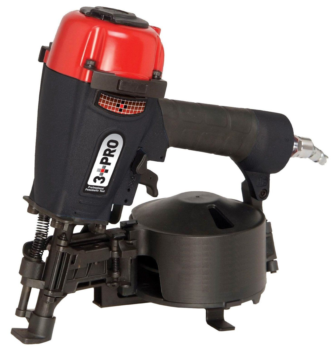 3 PRO CRN45P 11Gauge Roofing Nailer, 7/81 3/4Inch