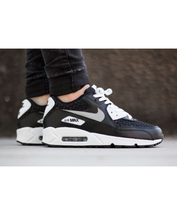 nike air max 90 premium trainers in holographic black nz