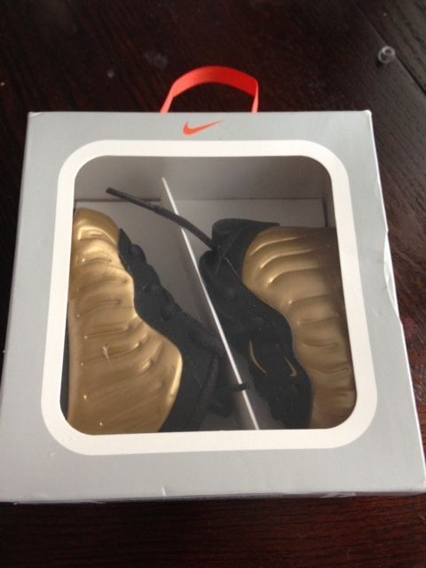 2d6a94273a3 Nike Lil Baby Gold Foamposite Pro Infant Size 1C 0-3Months  Nike  Athletic