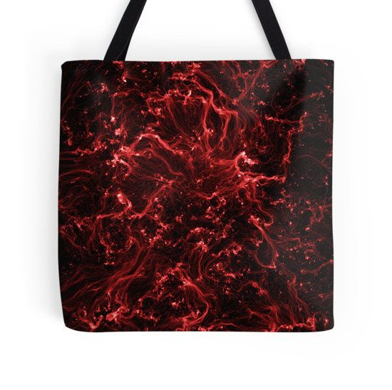 Neon Flame Ruby Tote Bag - Available Here: http://www.redbubble.com/people/rapplatt/works/9492278-neon-flame-ruby?p=tote-bag&ref=artist_shop_grid