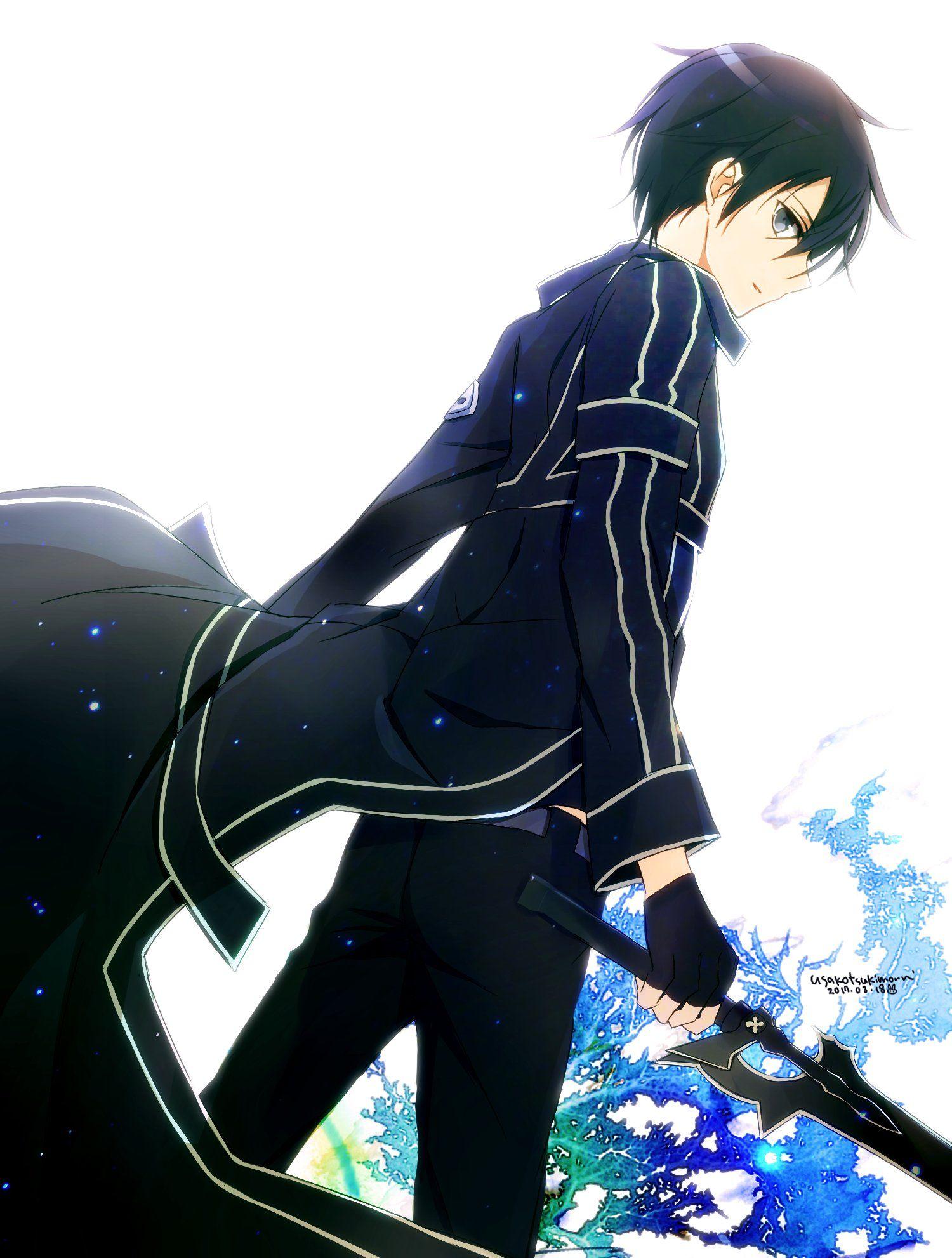月森うさこ on Sword art online wallpaper, Sword art, Sword