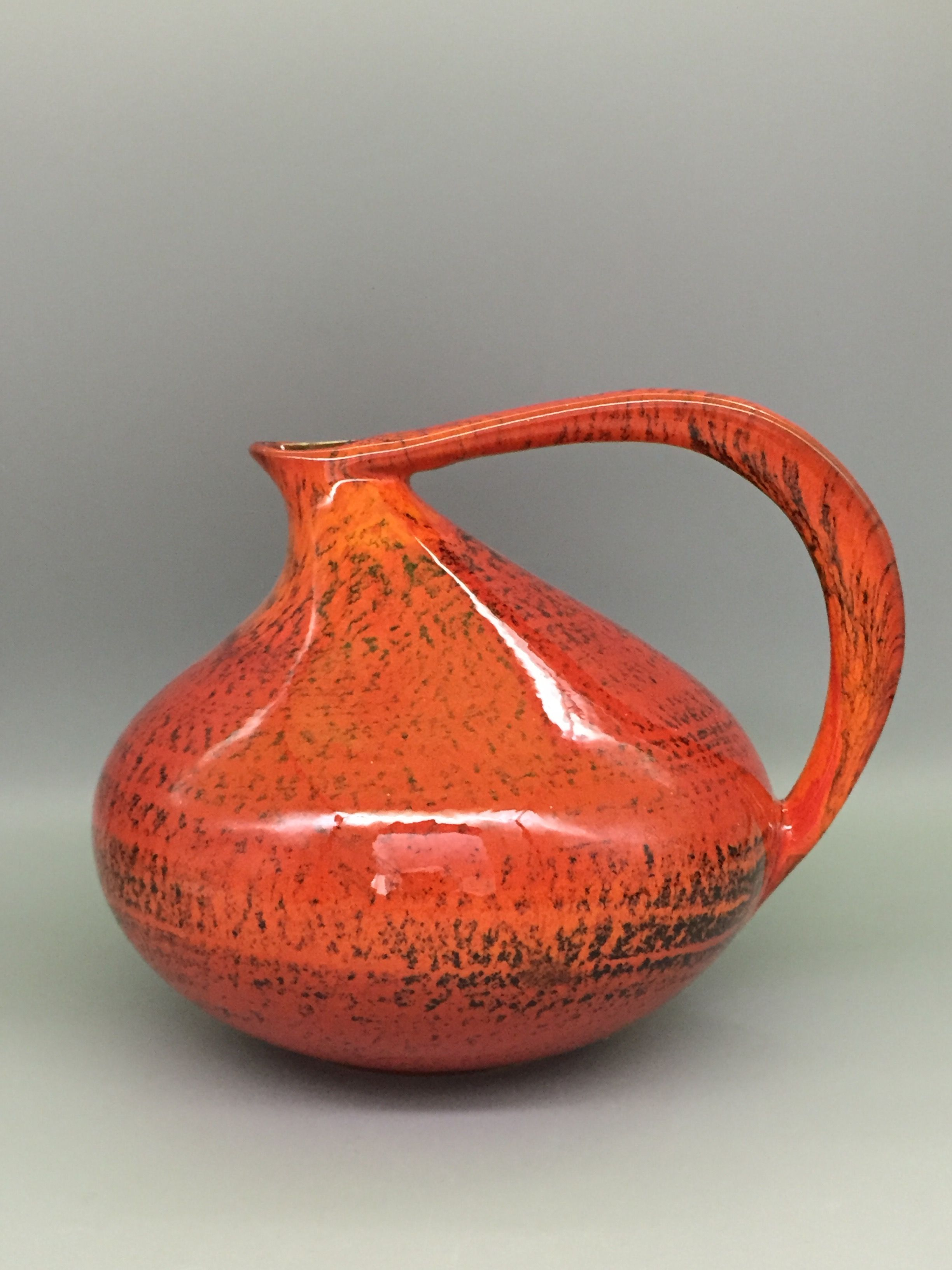 Ruscha 313 Early Version Designed By Kurt Tschoner In 1954 Wgp Icon Famous Elegant Shape Pottery Designs Pottery Art Pottery Jugs