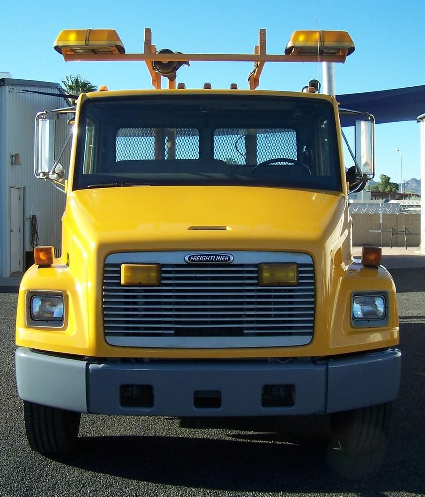 2001 Freightliner FL70 . . . Only 50,000 Actual City Owned