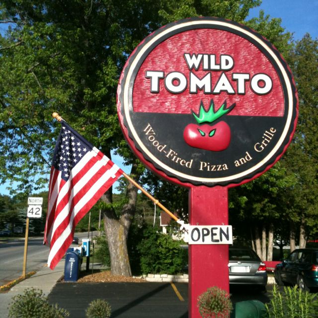 Places To Visit On Lake Michigan In Wisconsin: Wild Tomato In Fish Creek, WI (Door County) Great Wood