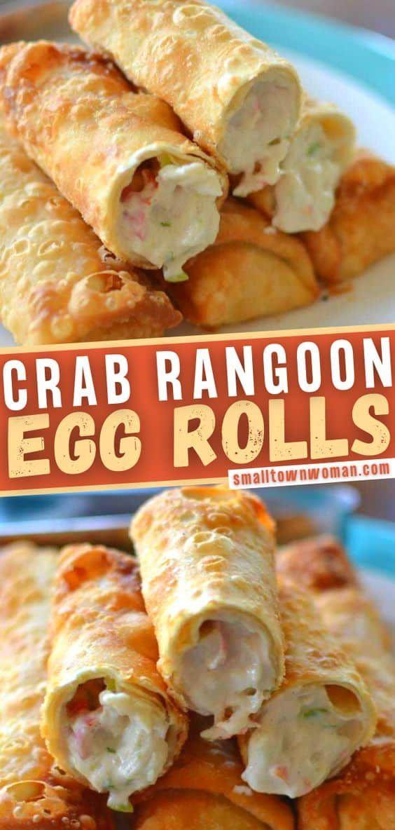 Crab Rangoon Egg Rolls Look no further than the pe