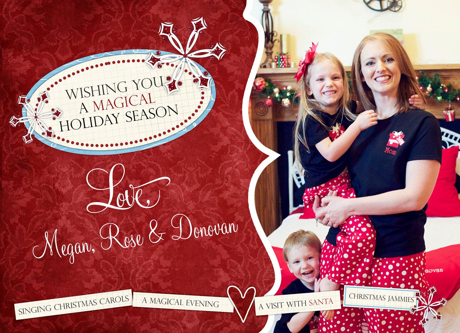 Custom Photo Christmas Card | Xmas Cards | Pinterest | Colors, Of ...