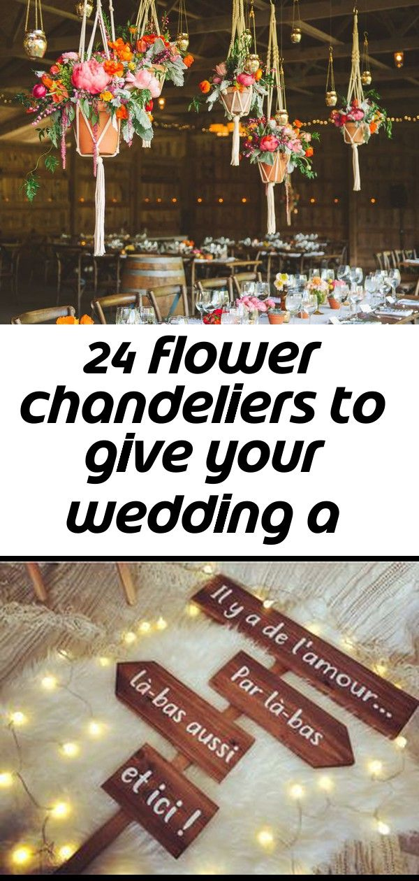 24 flower chandeliers to give your wedding a gardenfresh feel 1 24 Flower Chandeliers to Give Your Wedding a GardenFresh Feel Hello This week will be rich in diy  panels...