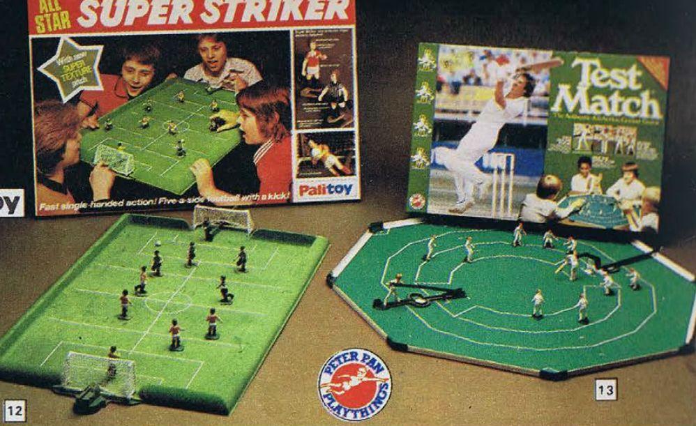 Super Striker & Test Match Childhood toys, Retro toys