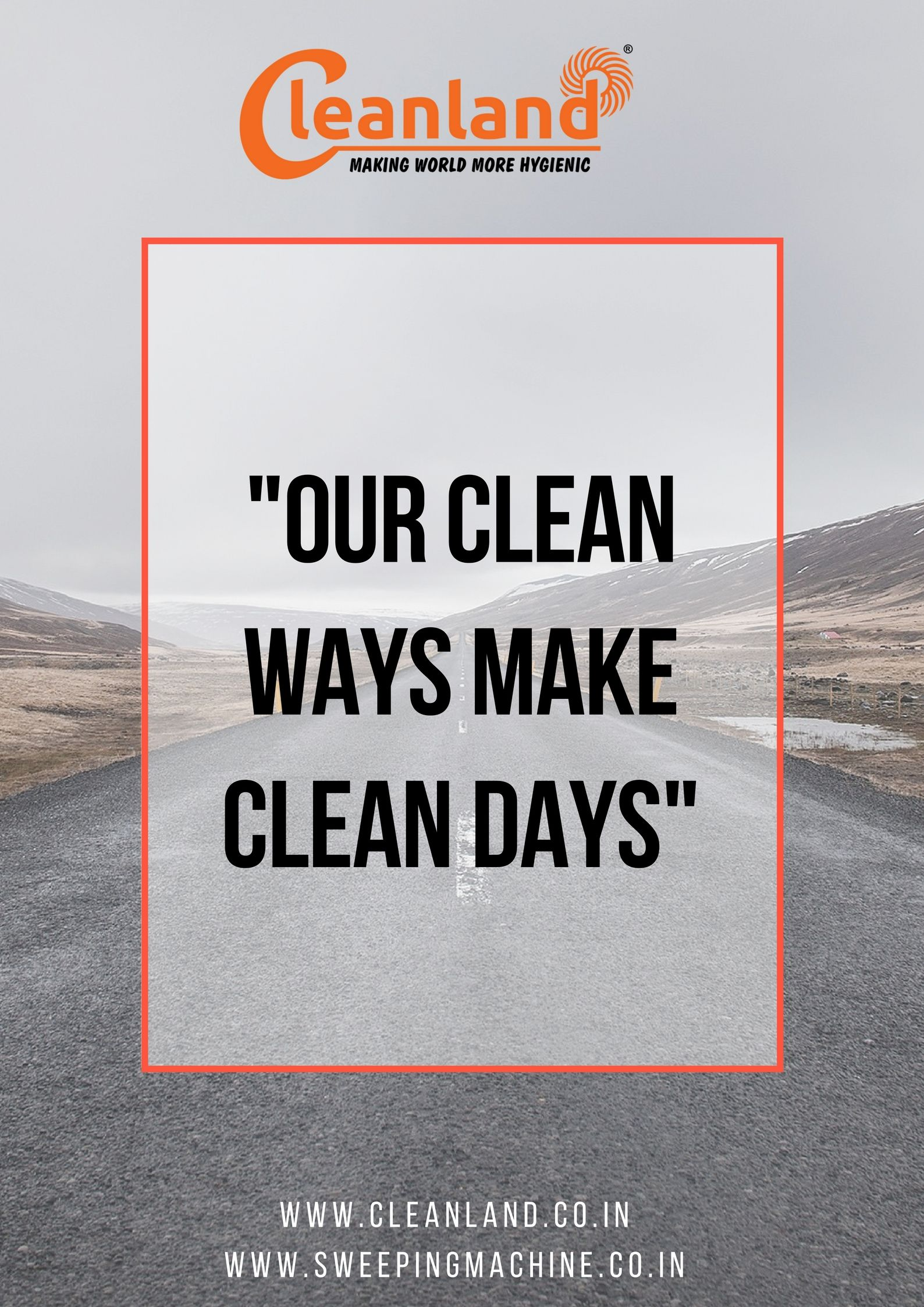 Our Clean Ways Make Clean Days..!! 🙂 #quote #quoteoftheday