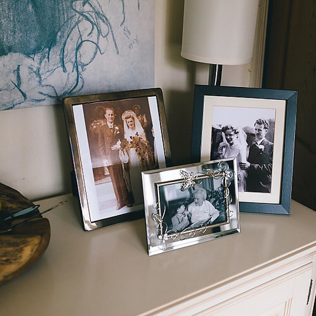 I turned up to bridal prep and saw these images and it just made me smile.  I have similar pictures in my house.  A little reminder of loved ones who aren't here anymore and you dearly wish they were especially on your wedding day. xx   buff.ly/2jZLwkP