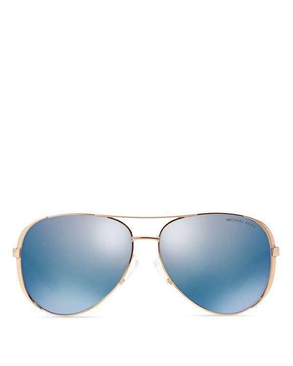 84dec5c22 Michael Kors Chelsea Polarized Aviator Sunglasses   Products ...