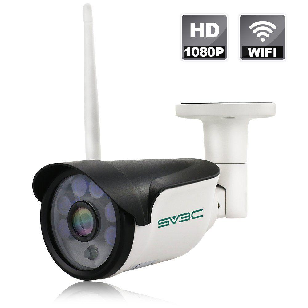 SV3C Wireless Security Camera, Full HD 1080P WiFi IP Surveillance ...