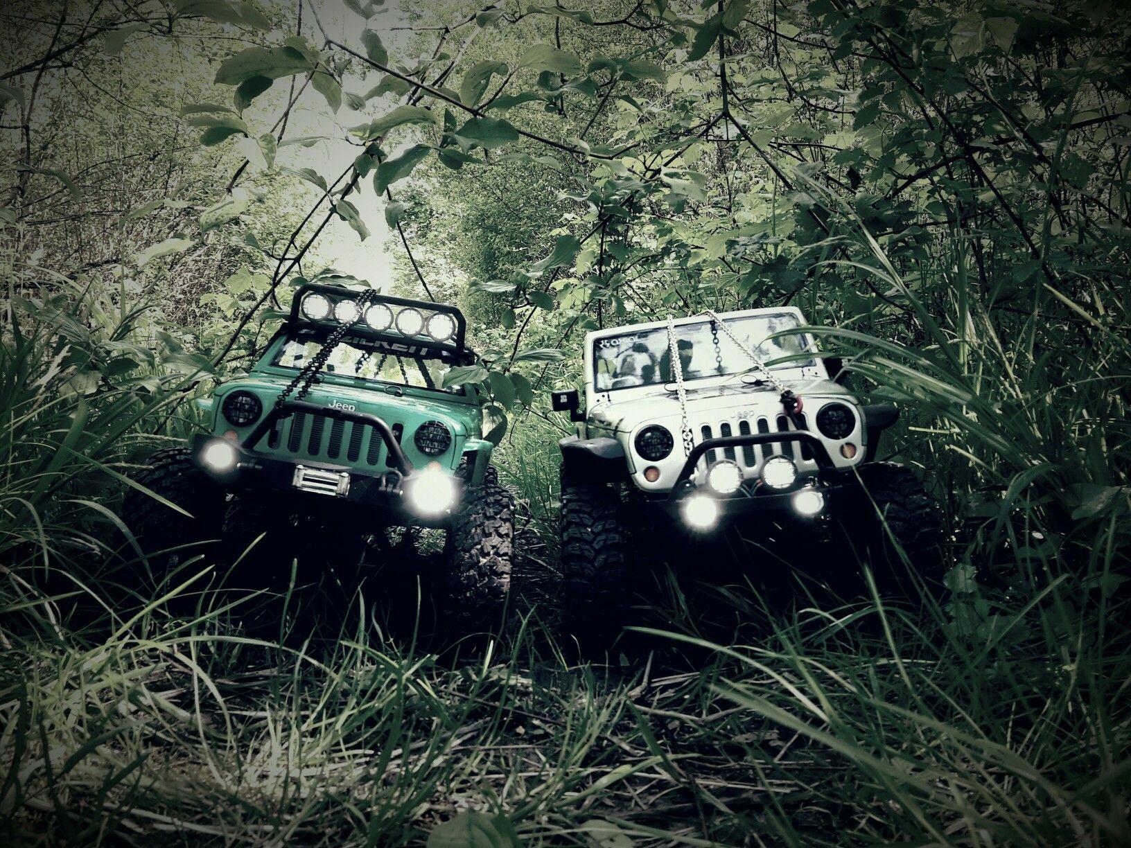 SCX10 Jeep G6 Falken und Rubicon
