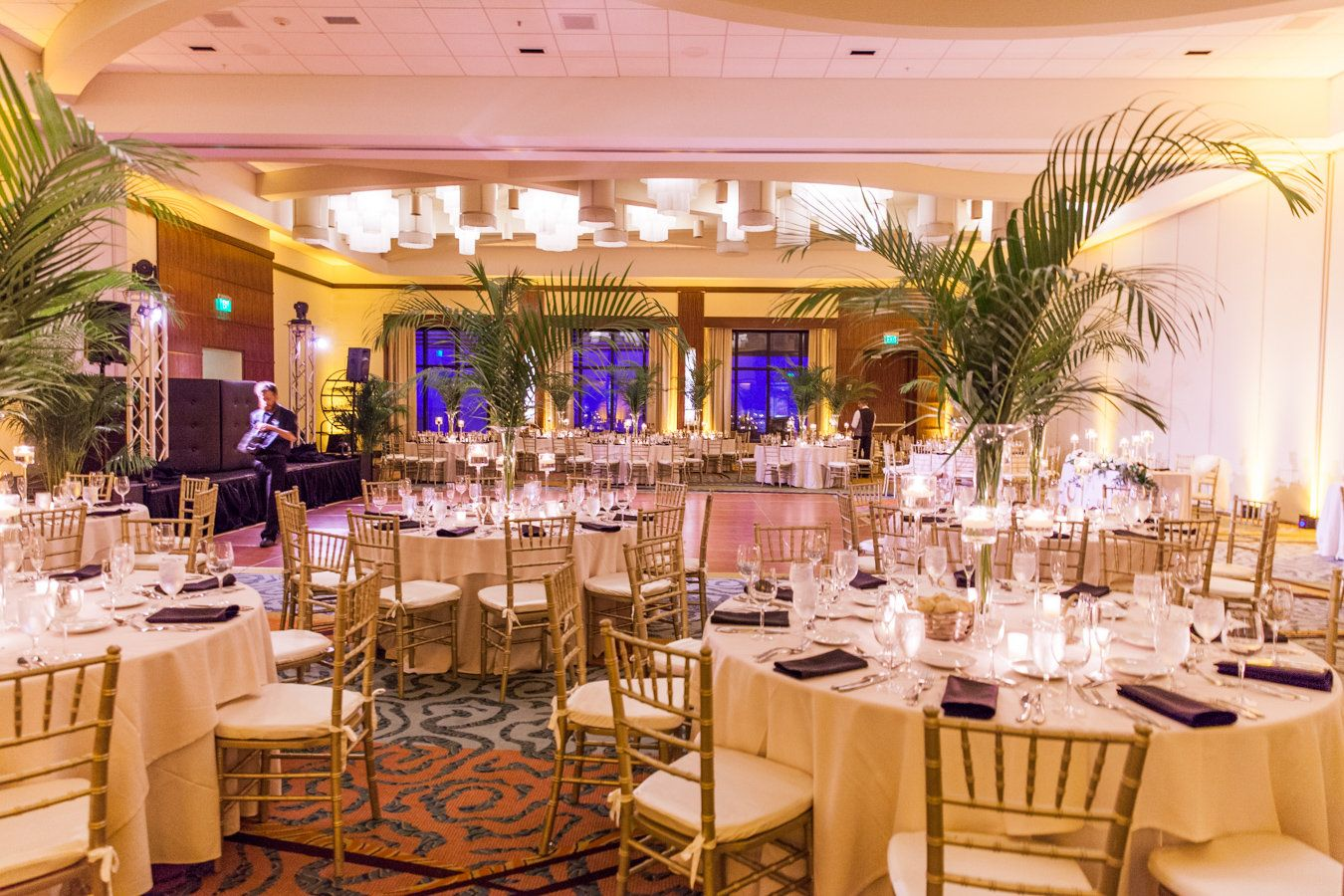 Fort Lauderdale Marriott Harbor Beach Resort Wedding Reception Setup Florida Wedding Dj Photo Credi Wedding Dj Setup Wedding Dj Wedding Planner Printables