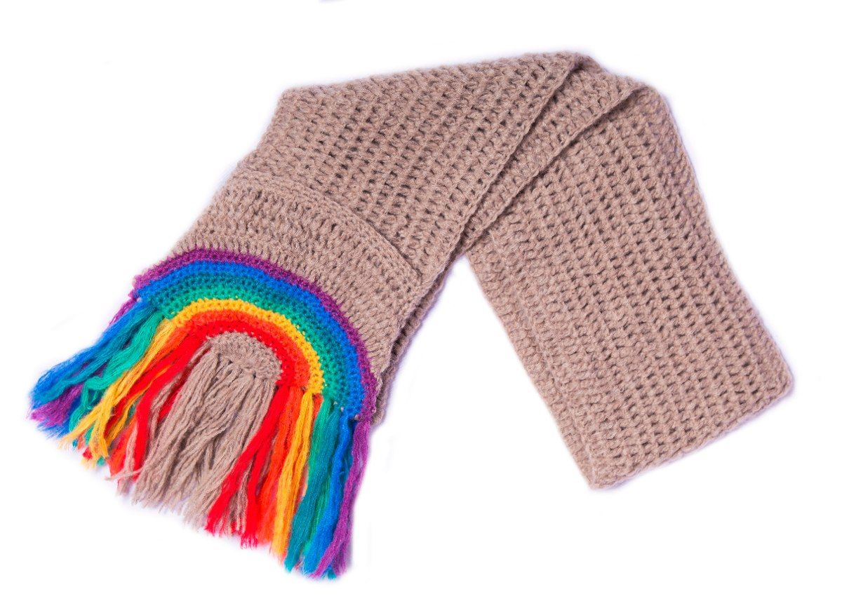 bufanda bolsillos- abrigo - tejido -mujer -de las bolivianas ...