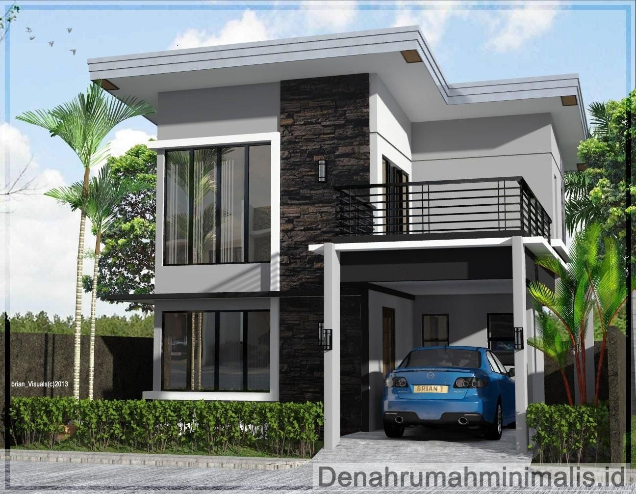 Desain Rumah 2 Tingkat Type 36 Cek Bahan Bangunan