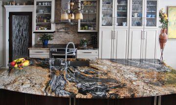 Amore di Noce Granite Countertops Color for Kitchen Granite ...