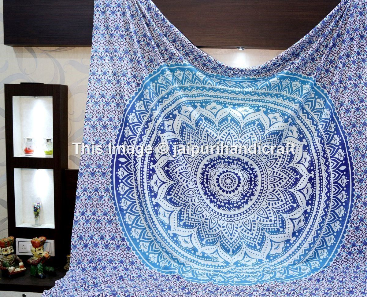 Madhu International Hippie Mandala Multi Purpose Cotton