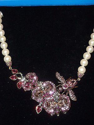 Heidi Daus The Bee's Knee's Beaded Drop Crystal Necklace