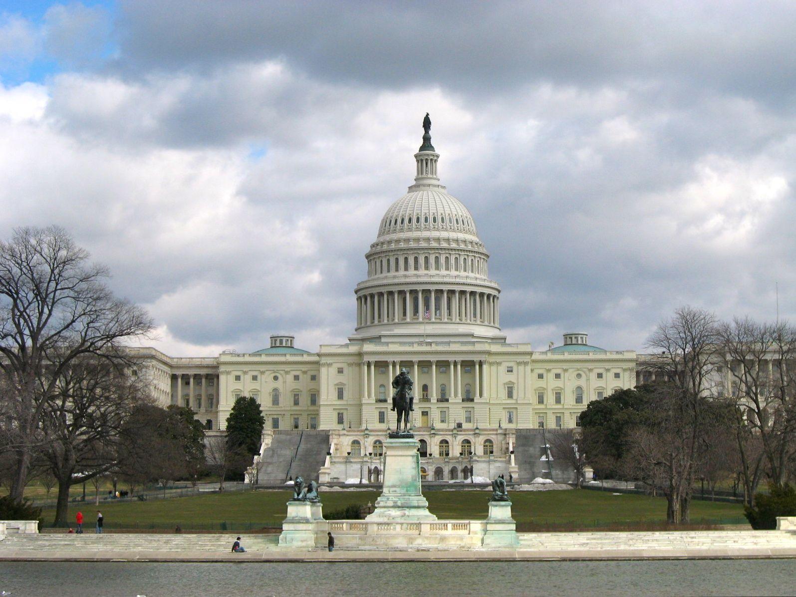 Capitol building congress house of representatives