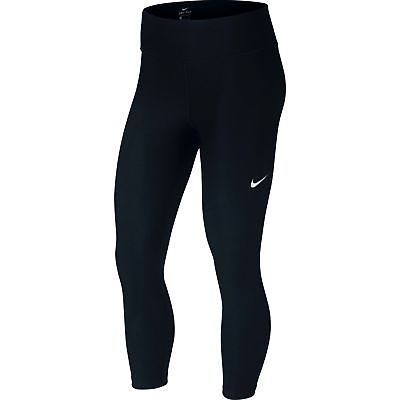 2532d867243a8 Nike women fitness training pants 3 4 nike power victory crop narrow black-  без