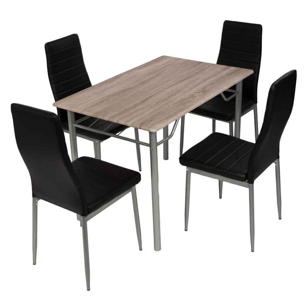 Essgruppe 5er Set Esstischgruppe Tischgruppe Sitzgruppe 4 Stuhle Kuchentisch Mobel Wohnen Mobel Tisch Stuhl Sets Kuche Tisch Tischgruppe Sitzgruppe