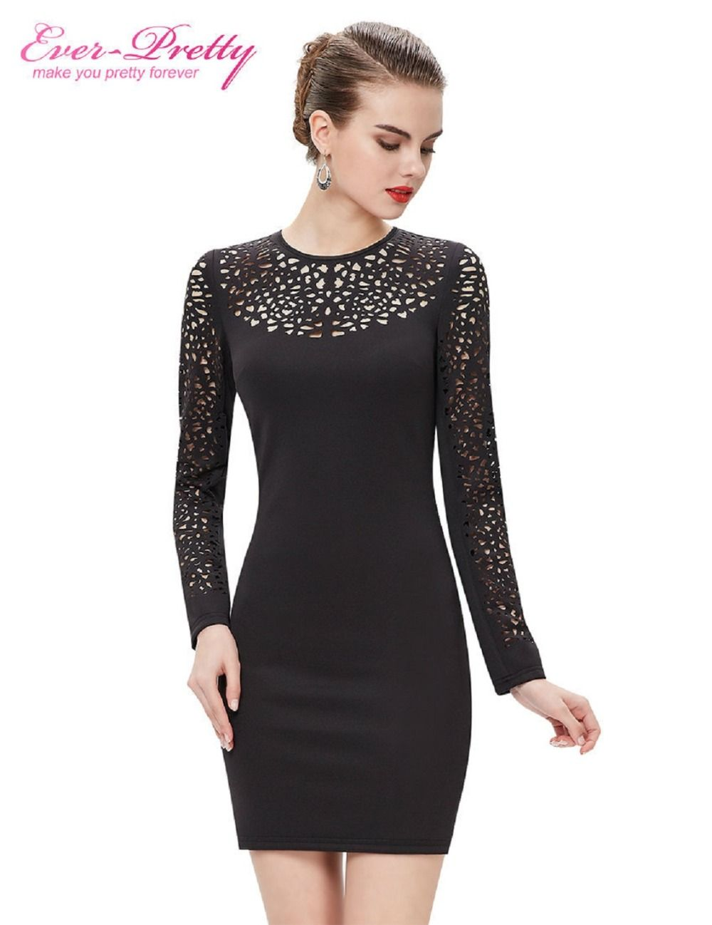 Cocktail dresses apbk ever pretty new arrival long sleeve