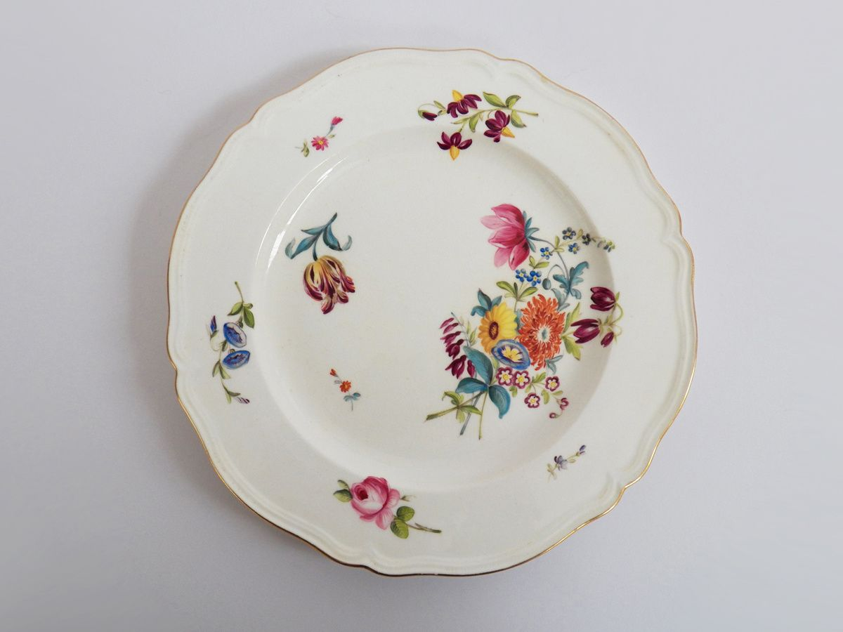 Beautiful Coalport For Daniell London Hand Painted China Plate Antique Tea Sets Antique Collection Chintz China