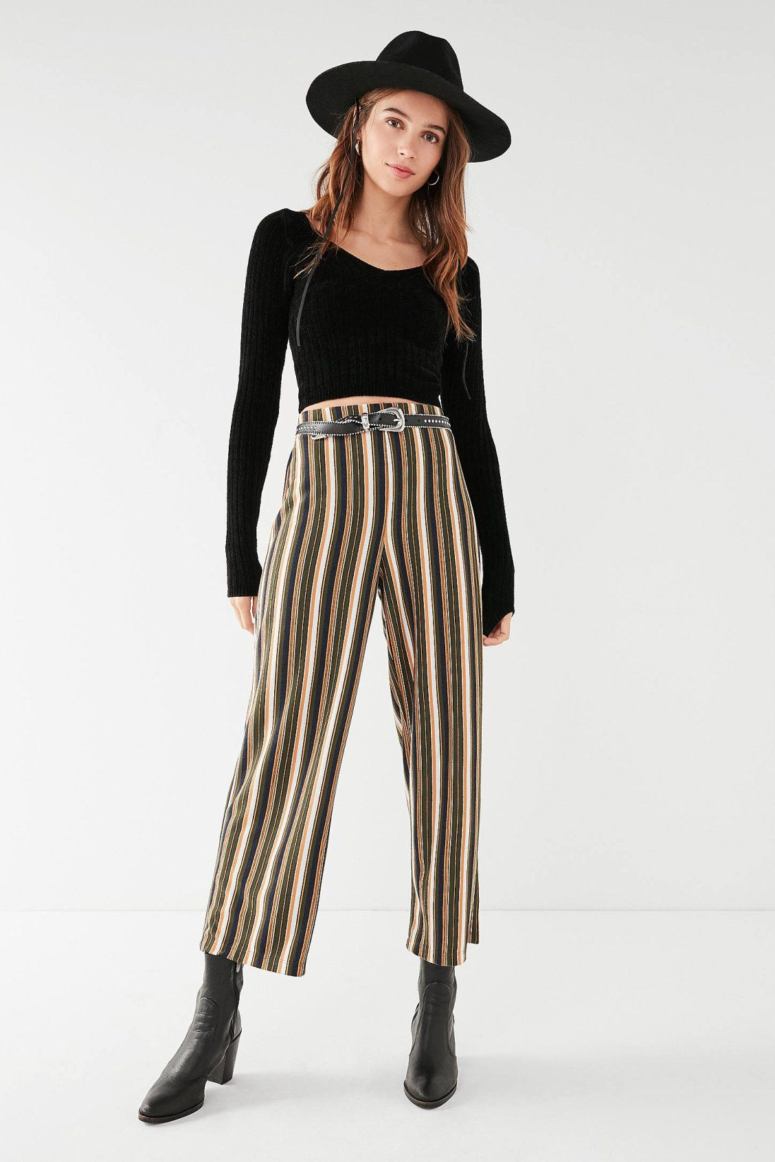 3b0540732e4 UO Ant Knit Cropped Pant