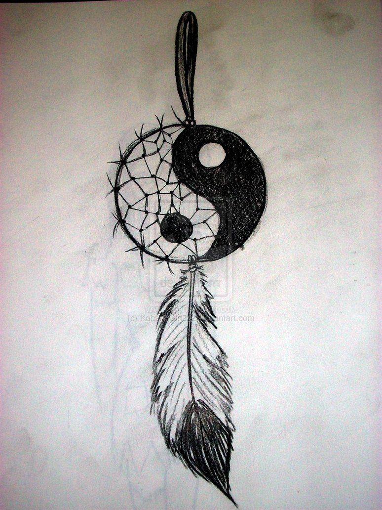 Yin Yang Dream Catcher by ~KohanaGirl222 on deviantART ...