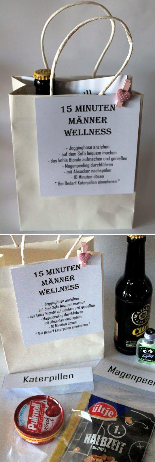 DIY 15 Minuten Männer Wellness  die perfekte Geschenkidee für Männer